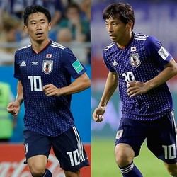 コロンビア・メディアが注目選手に挙げた香川と乾。ともにクラブで結果を残し、調子を上げている。(C)Getty Images