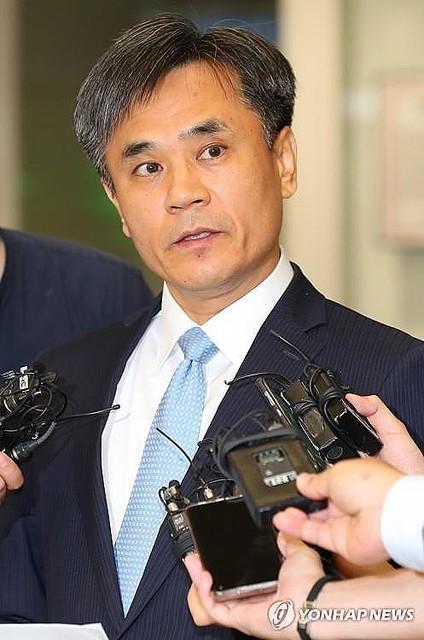 [画像] WTO理事会の韓国代表が帰国 日本の主張と協議に応じない姿勢を批判