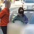 日本帰国&デートの際には笑顔で車に(2月下旬)