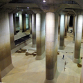 洪水防ぐ「地下神殿」フル活動