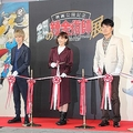 「鋼の錬金術師展」のイベントに登壇した本郷さん、本田さん、土田さん(2017年9月撮影)