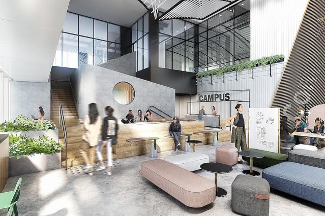 [画像] Googleが「渋谷ストリーム」に「Google for Startups Campus」をオープン、日本の起業家を無償で支援