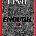 タイム誌が最新号の表紙で米の銃乱射事件に言及 「もうたくさんだ」