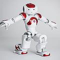 ヒト型ロボット「NAO」。ソフトバンクロボティクスのウェブサイトより。