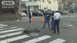 小学生男児がダンプにはねられ重傷 60代男を逮捕
