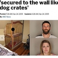 双子を檻に入れていた両親(画像は『ABC Action News 2019年4月24日付 New York post「Couple arrested for allegedly locking toddlers in cribs 'secured to the wall like dog crates'」(Modoc County Sheriff's Office)』のスクリーンショット)