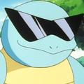 ポケモンGOにサングラスのゼニガメ ピカチュウ以外では初の試み