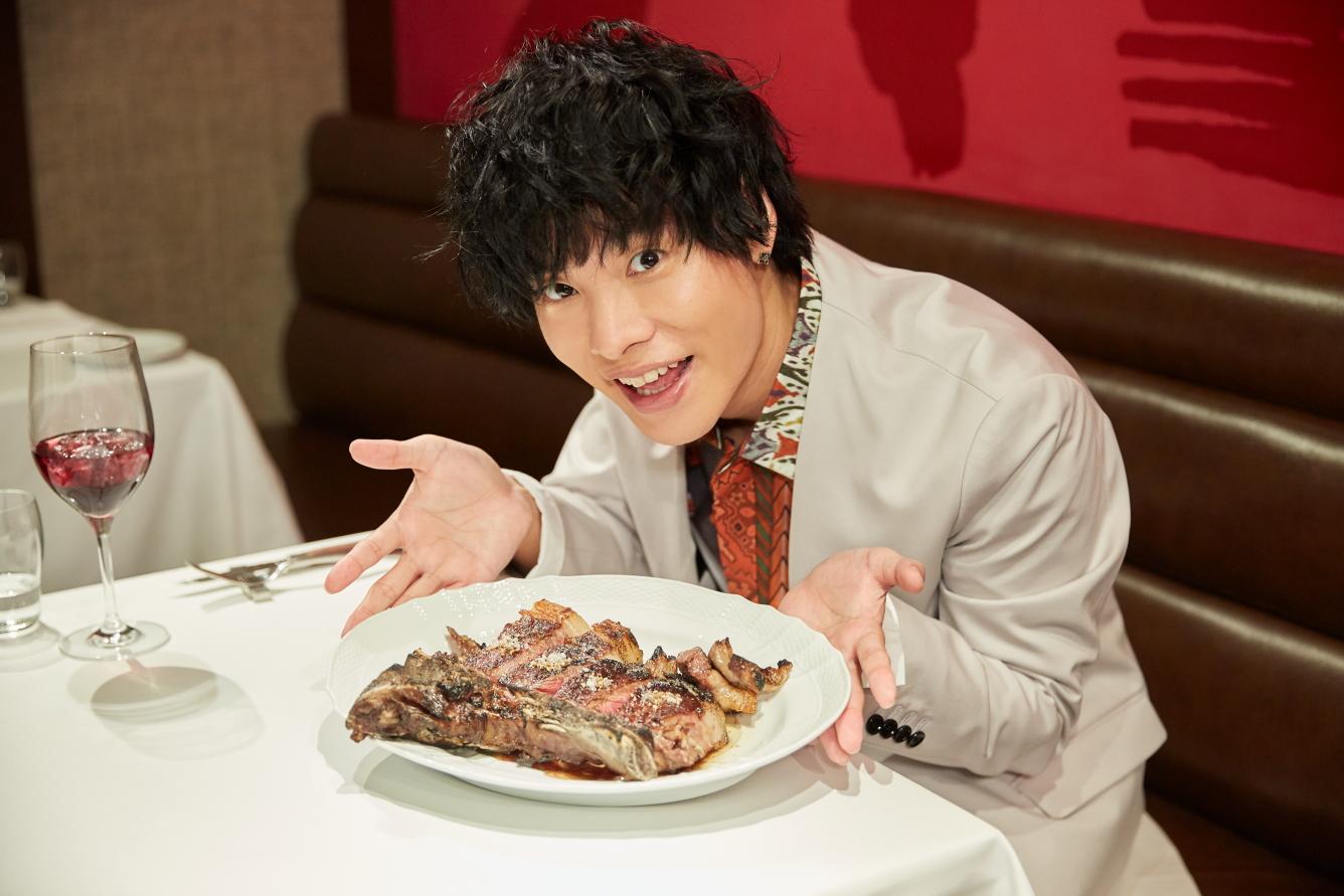 「お肉」大好き岡本信彦が、声優界で最も誕生日会に呼ばれる「ステーキ」な理由