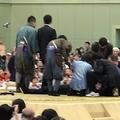 土俵上であいさつ中に倒れた舞鶴市長 くも膜下出血だった