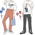 OKとNGの境界線は? おしゃれに【オーバーTシャツ】を着こなす鉄板ルール