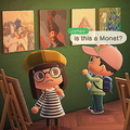 米国の美術館が名画を「あつ森」にインポートできるQRコードを公開