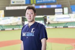 埼玉西武ライオンズの守護神として活躍する増田達至投手