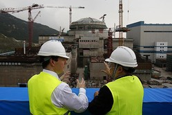 中国の原発で放射線漏…