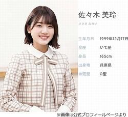 日向坂46・佐々木美玲が退院、来週から「ゆっくり」復帰へ