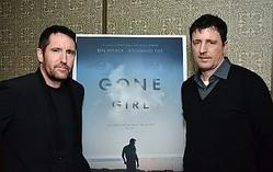 『ゴーン・ガール』でもタッグを組んだトレント・レズナーとアッティカス・ロス(2014年撮影)  - Araya Diaz / Getty Images for cinema prive