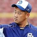 右ヒジには手術の痕が…。松坂の来季はどうなるのか