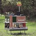 ミツバチ専用「世界最小マクドナルド」オープンの理由