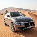 本格オフロード性能を提示 マセラティのSUVは砂漠で走るのか?