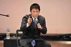 熱く語る個性派・山田雅人