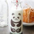 注ぐとパンダやペンギンが出現 人気の牛乳瓶の開発に込めた思い