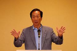 鴻海創業者の郭氏、来年の台湾総統選出馬を断念 政治には関与