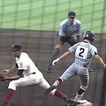甲子園「一塁手キック」騒動の余波 スポーツ推薦の話が流れていた