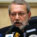 イランのアリ・ラリジャニ国会議長(2020年2月17日撮影)。(c)ANWAR AMRO / AFP
