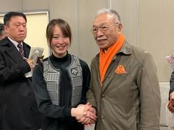 藤田菜七子騎手とDr.コパオーナー