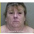 「男児にしつけをしただけ」と女(画像は『Casey Anthony 2017年12月11日付「Carmen Justice Allegedly Showed a Child Her Genitals to Teach Him a Lesson」』のスクリーンショット)