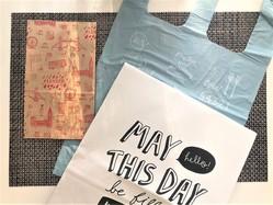 ダイソーで見つけた、かわいい&使える「見せる袋」3選