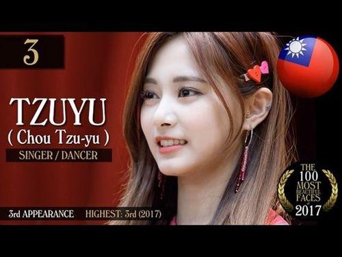 [画像] 台湾出身のTWICEツウィがアジア人トップ  「世界で最も美しい顔」
