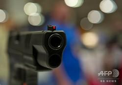 銃口(2015年4月10日撮影、資料写真)。(c)KAREN BLEIER / AFP