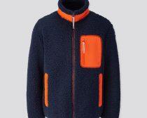 防風ボアフリースジャケット(長袖) 5,990円