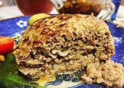 玉ねぎ炒めず牛乳とパン粉も要らない美味しいハンバーグ/Twitter:@majyokkoreiより