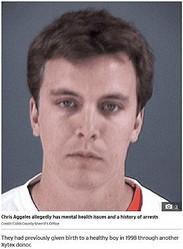 経歴を詐称し精子バンクにドナー登録した男(画像は『The Sun 2020年9月29日付「'IT'S JUSTICE Parents of teen with 'serious mental problems' to sue sperm bank after donor 'was revealed to be schizophrenic criminal'」(Credit: Cobb County Sherrif's Office)』のスクリーンショット)