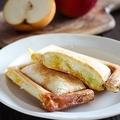 寒い季節にたまらない美味しさ!カリカリとろとろホットサンドレシピ