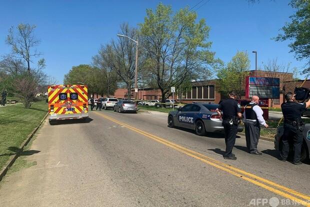 米テネシー州の高校で発砲 警官ら負傷