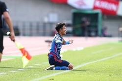 フル出場した久保はゴールを生み出せず。チームを勝利に導けなかった。写真:茂木あきら(サッカーダイジェスト写真部)