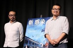 映画ジャーナリストの 宇野維正氏(写真左)と共に