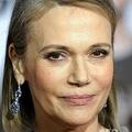 米カリフォルニア州ウエストウッドで行われた映画『40男のバージンロード(I LOVE YOU, MAN)』のプレミア上映会に出席したペギー・リプトンさん(2009年3月17日撮影)。(c) Gabriel BOUYS / AFP