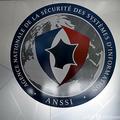 仏国家情報通信システム安全庁(ANSSI)のロゴ(2019年9月8日撮影)。(c)ERIC PIERMONT / AFP