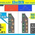 高速道路の合流マナー「ジッパー法」名古屋高速が周知を呼びかけ