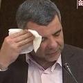 汗かき会見 イラン当局次官感染