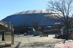 会場のメットライフドーム。宮田も7月に公演する