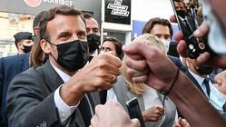 マクロン仏大統領を平手打ちの被告、禁錮4カ月