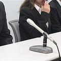 大阪高裁の控訴審判決後、記者会見した高田拓海さんの遺族ら=大阪市
