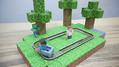 本当に動く「Minecraft」のトロッコをペーパークラフトで実現に成功