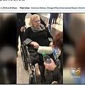 アメリカン航空、フライトキャンセル後に車椅子の乗客を空港に放置(画像は『CBS Chicago 2018年12月1日付「Woman Left In Wheelchair Overnight After Flight At O'Hare Canceled」』のスクリーンショット)