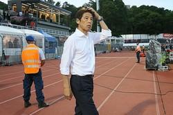 西野監督は本田のパフォーマンスについて言及。今後もトップ下に据えるだろうか。写真:滝川敏之(サッカーダイジェスト写真部)