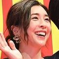 映画『コンフィデンスマンJP』空道゙プレミアでの竹内結子さんと三浦春馬さん('19年5月)